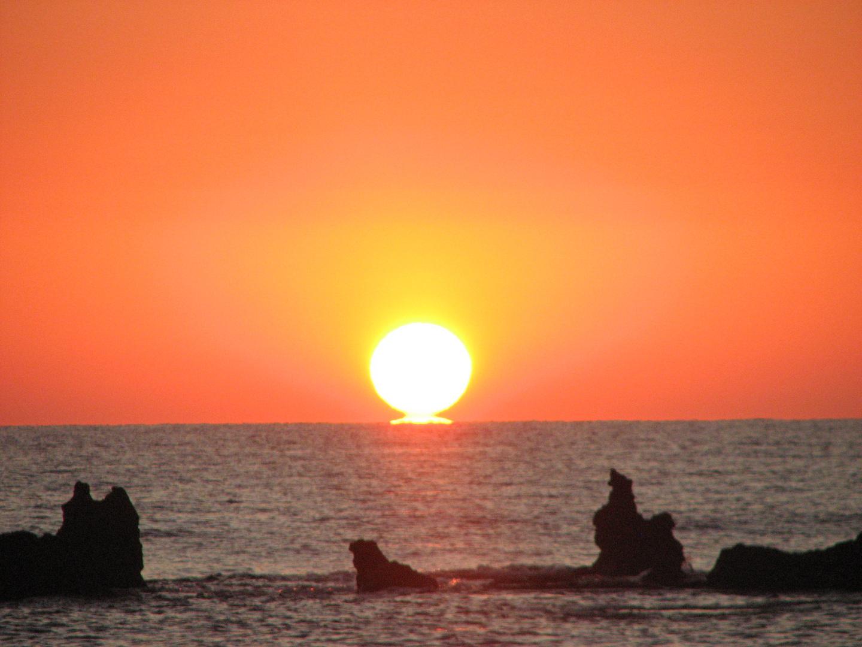 Levé du soleil en Corse