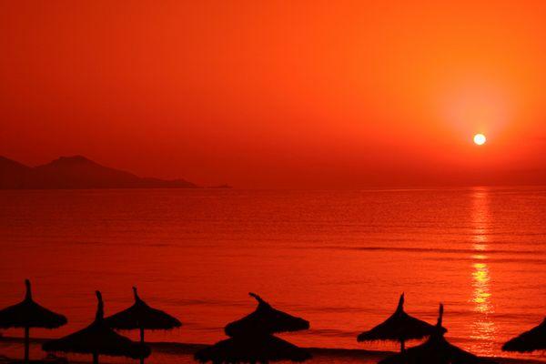 Levée de soleil à Majorques