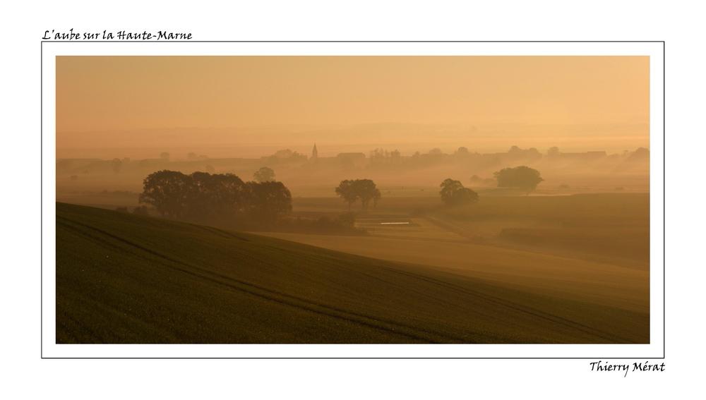 Levée de soleil quelque part en Haute-Marne