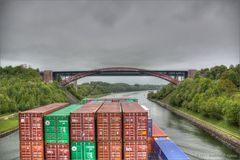 Levensauer Hochbrücke voraus