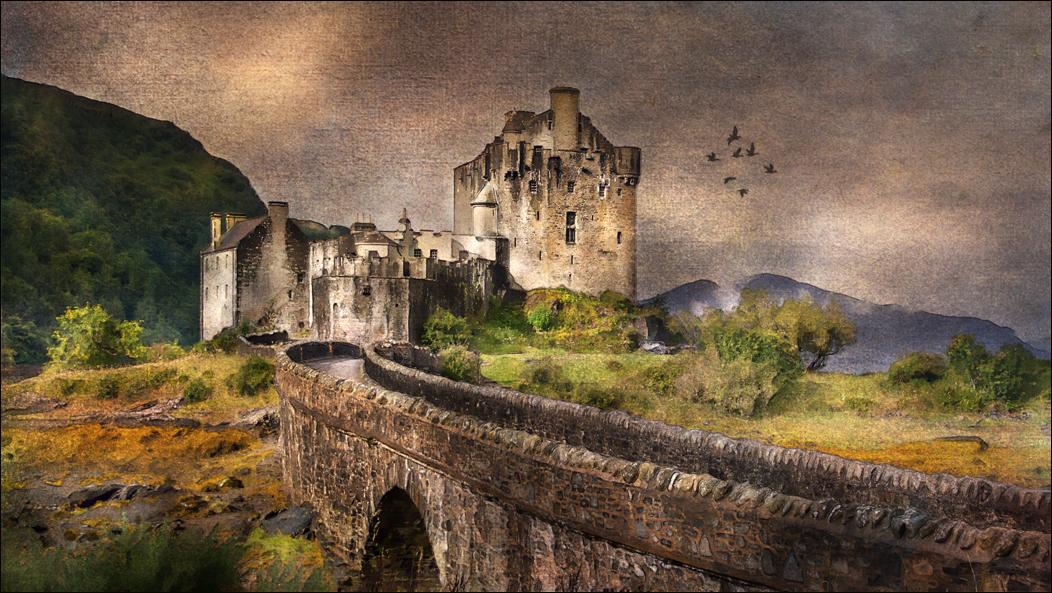 Lever de jour sur Eilean Donan Castle