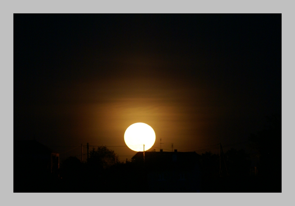 Lever de (pleine) lune