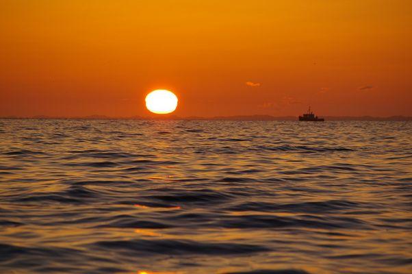 lever de soleil....