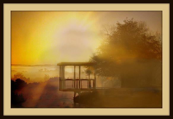 Lever de soleil chez Gilles