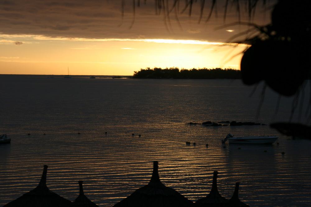 lever de soleil ile maurice