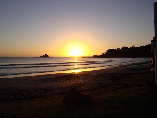 lever de soleil neo zelandais