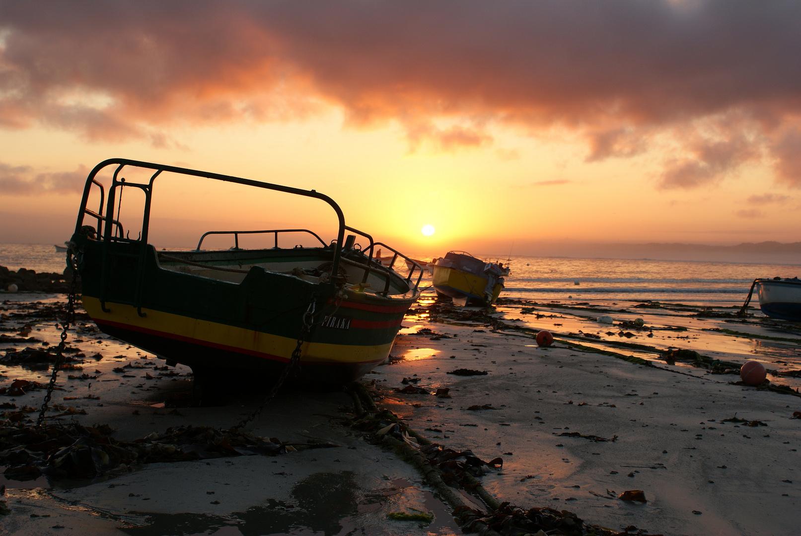 lever de soleil plage de porce carn