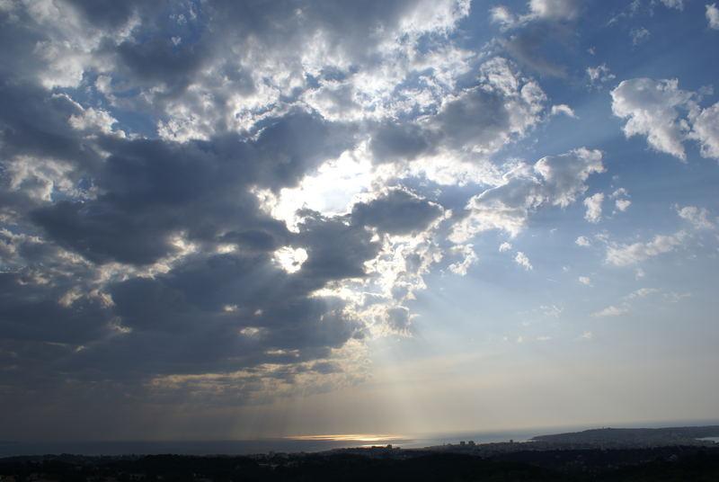 Lever de soleil sur le Cap d'Antibes