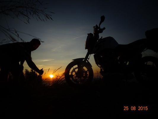lever de soleilsur bastia