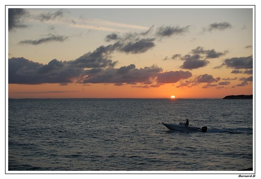 Lever du soleil à Noirmoutier