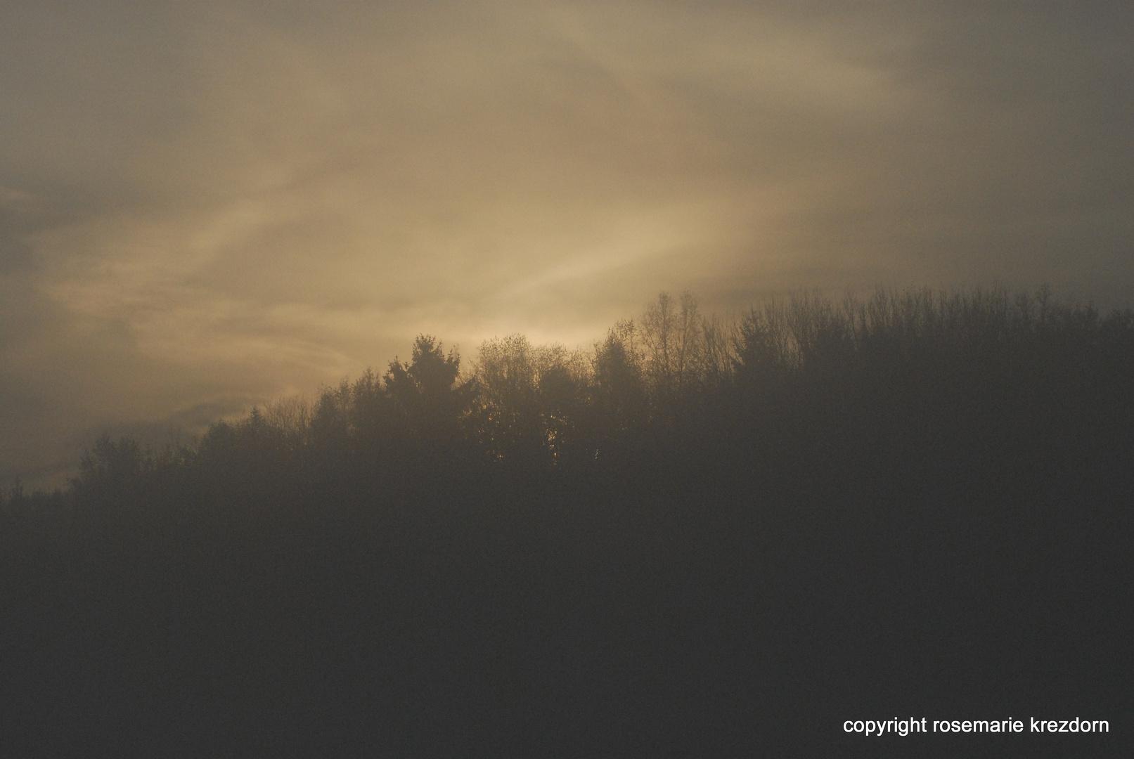 lever du soleil fin decembre 2009