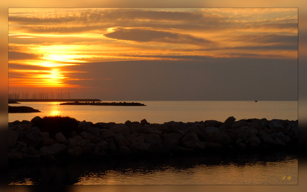 Lever du soleil, Sonnenaufgang