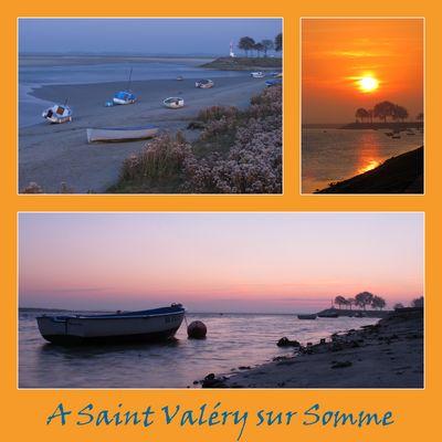 Lever et coucher de soleil à Saint Valéry sur Somme