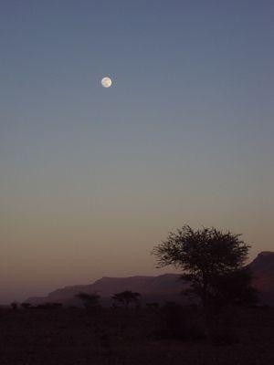 lever ou coucher de lune ??