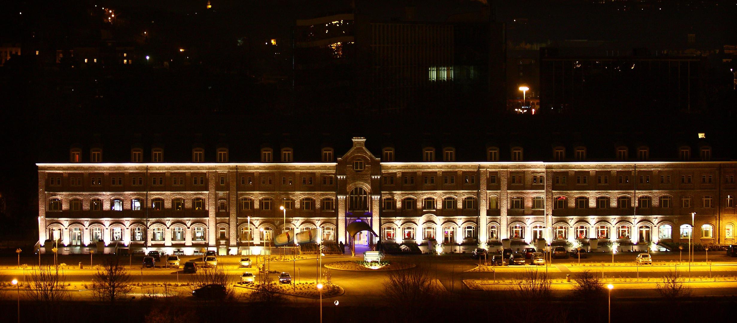 L'ex-gare devenue grand hôtel