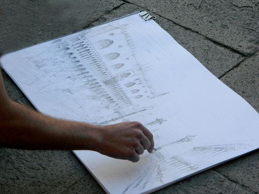 Lezione di disegno dal vero - 2