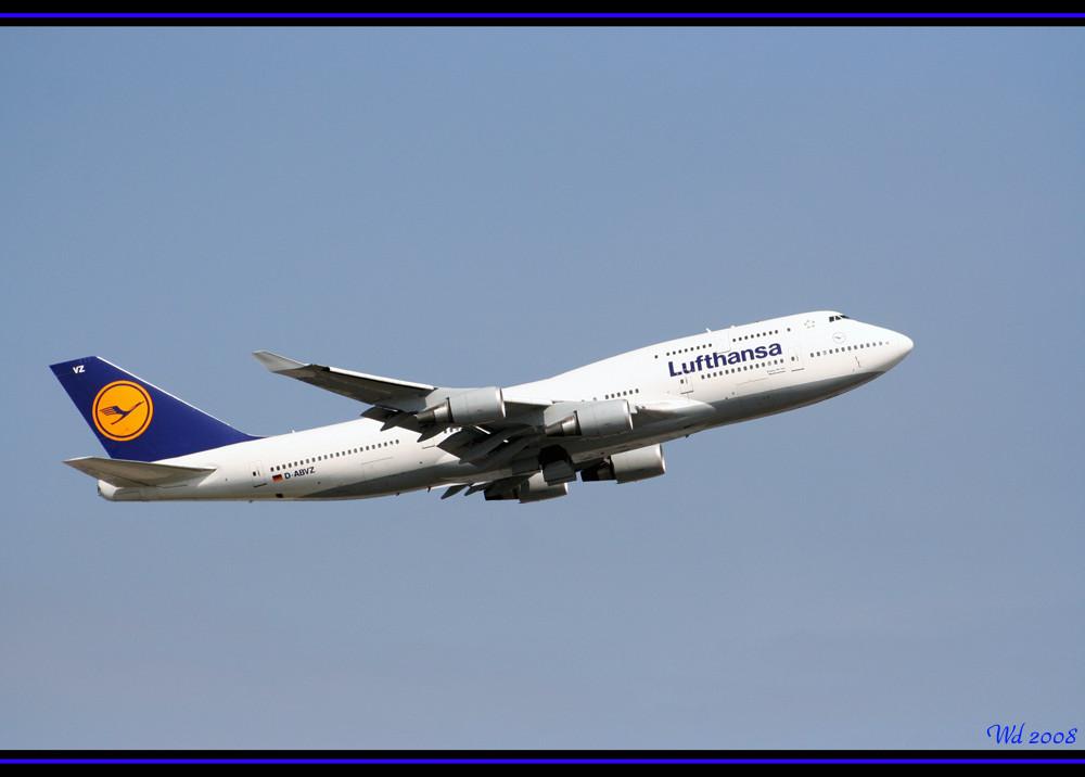 LH 747-400 D-ABVZ