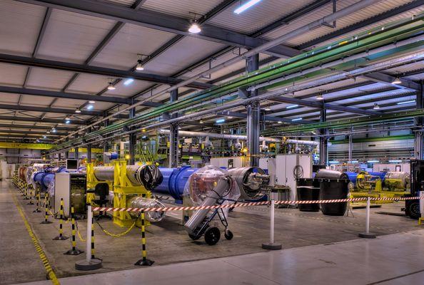 LHC Fertigung / Prüffeld