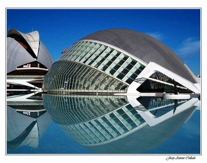 L'Hemisfèric i el Palau de les Arts