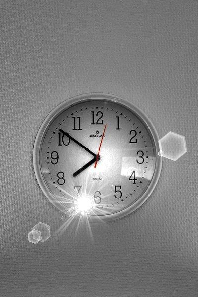l'heure...