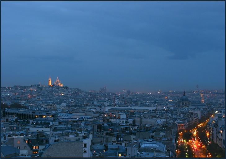 l'heure bleu de Paris