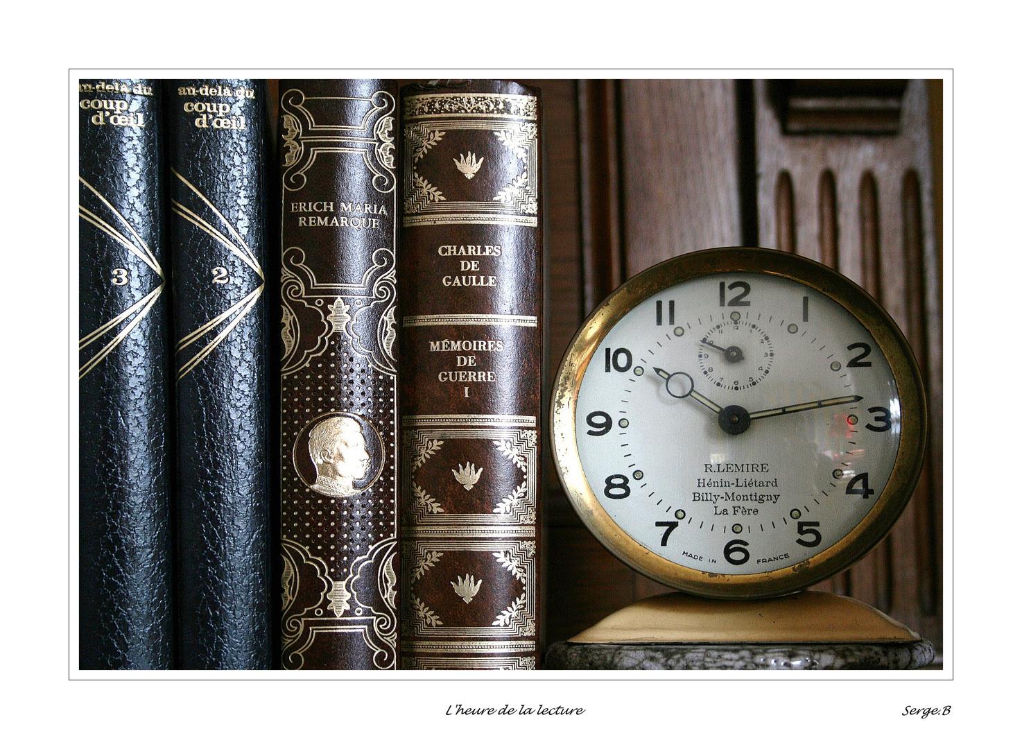 L'heure de la lecture
