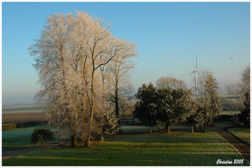 L'hiver arrive en Normandie.
