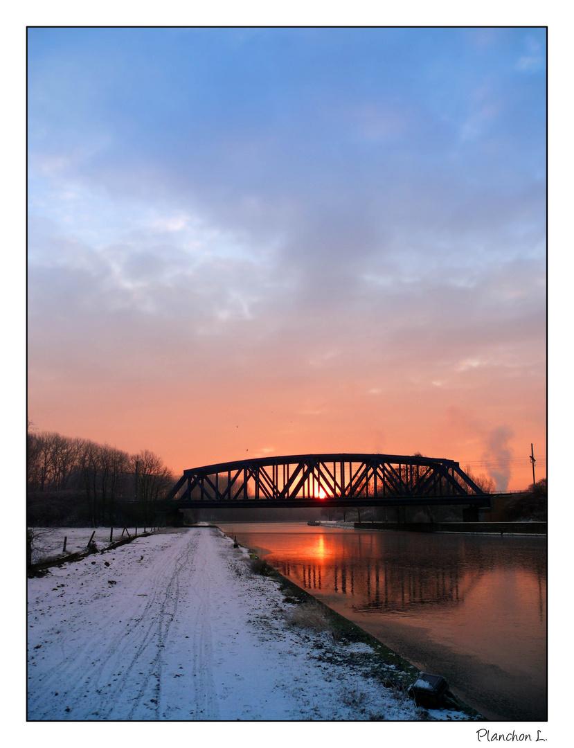 L'hiver au bord du canal