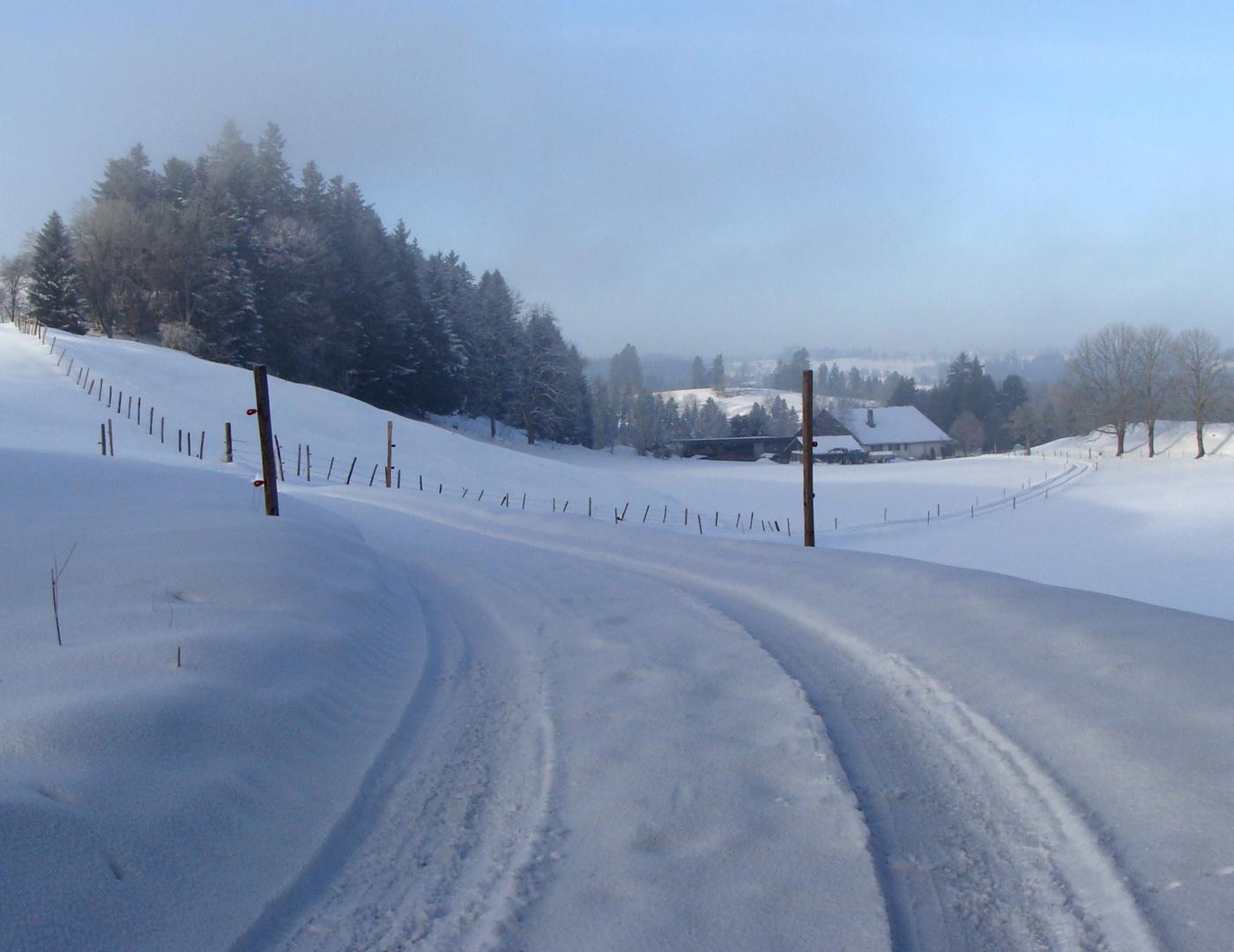 L'hiver dans le.. / Invierno en el.. / Winter im = Jura..02