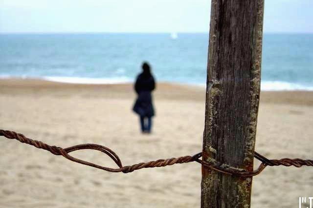 L'hiver, la mer