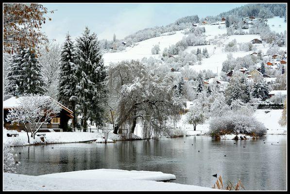L'hiver s'installe....