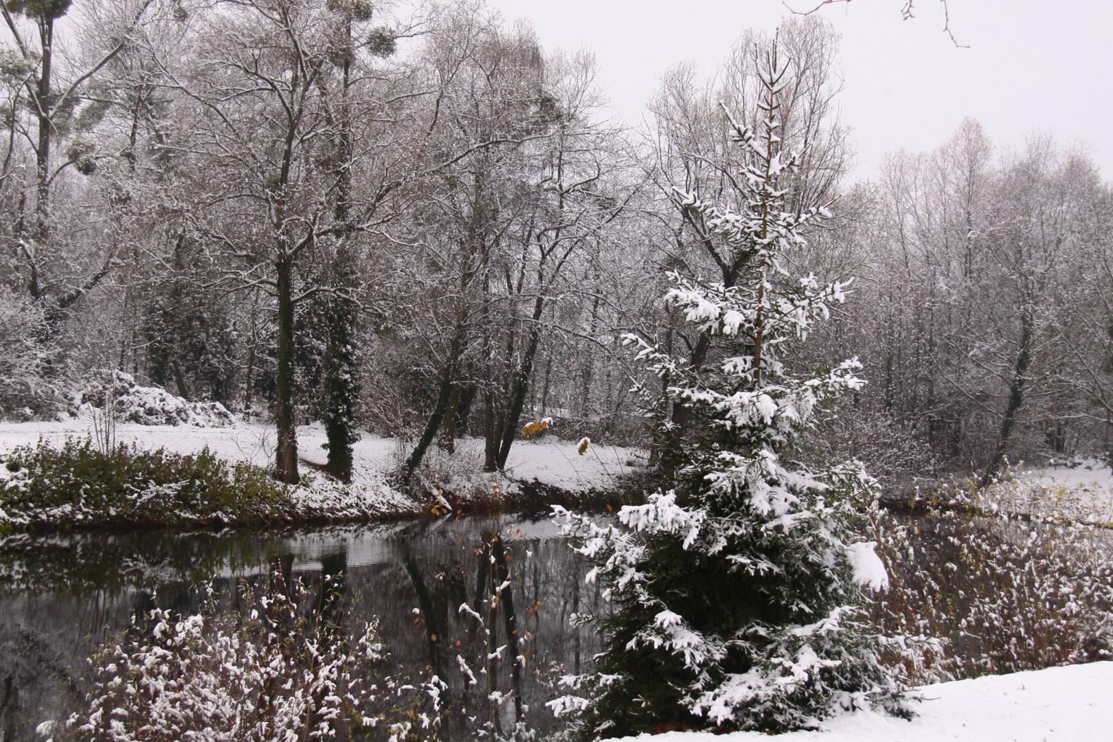 l'hiver s'installe!