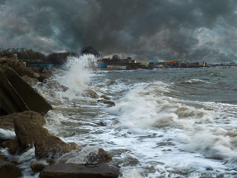 L'hiver sur la mer Noire