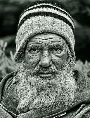 L'homme barbu