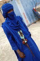 L'homme bleue de Tombouctou