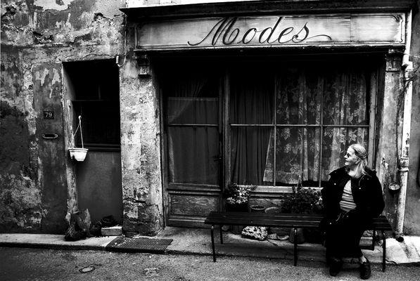 L'Homme, le mur, et le temps.     Malaucène, Mont Ventoux