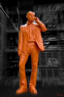 L'homme orange