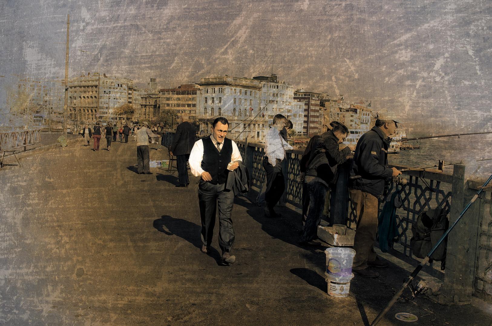 L'homme pressé...Istanbul