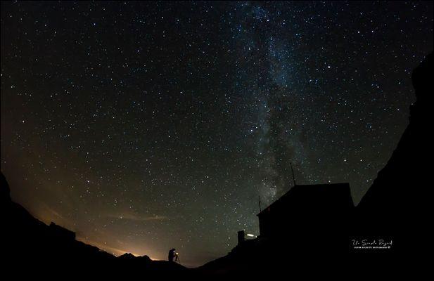 L'homme qui voulait photographier les étoiles ...