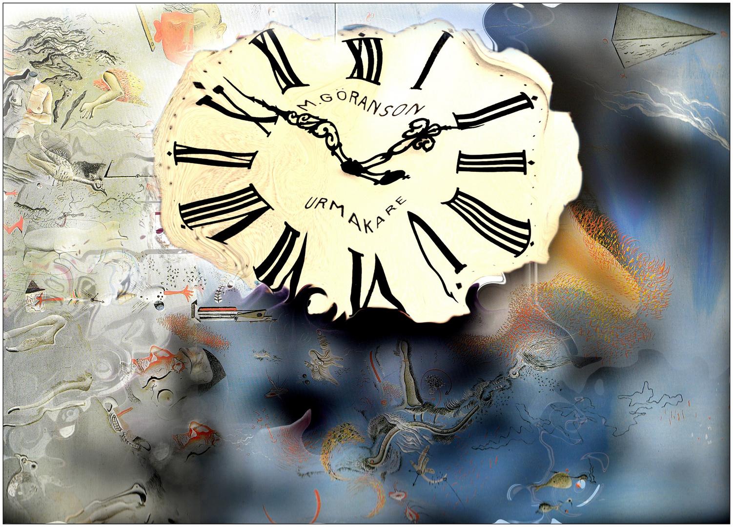 l'horloge molle de Dali