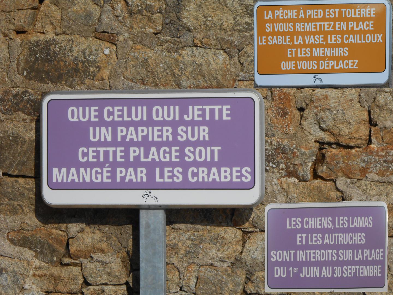 L'humour breton. photo et image   photos marrantes, humour, panneaux Images fotocommunity