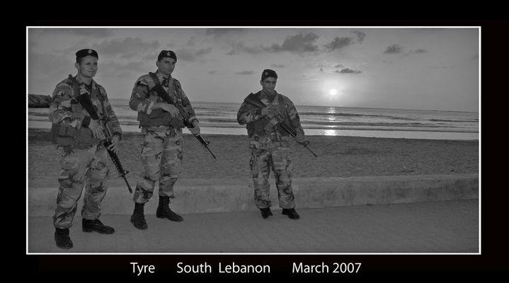 Libanesische Soldaten