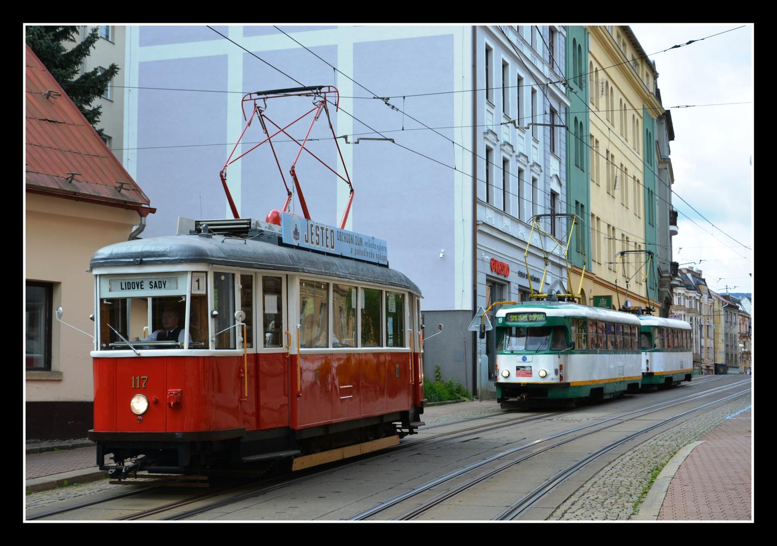 Liberec (Reichenberg) – Normal- und Meterspur