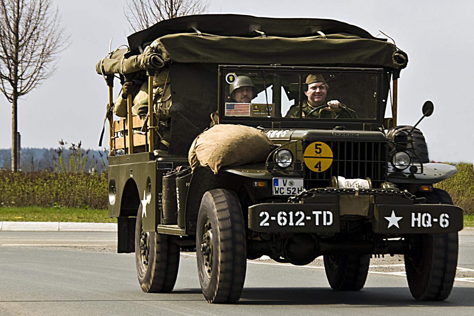 Liberty-Convoy im Vogtland