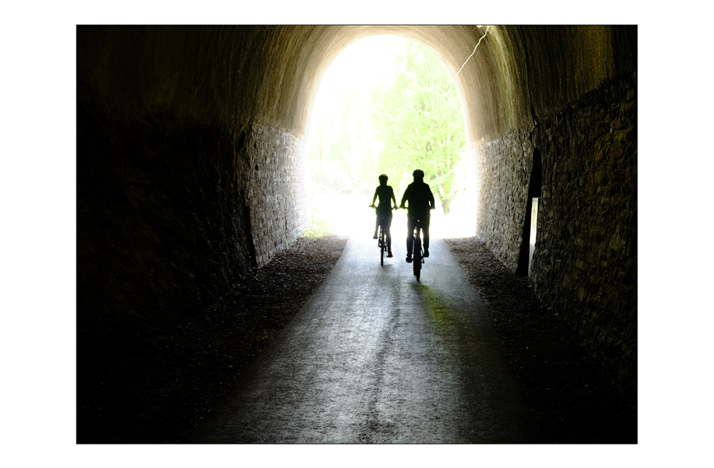 Licht am Enden des Tunnels
