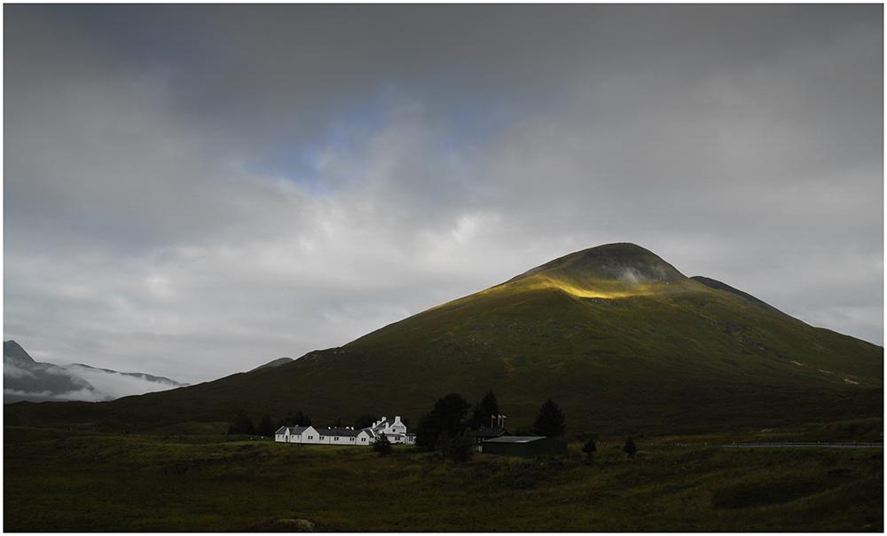 Licht auf dem Gipfel