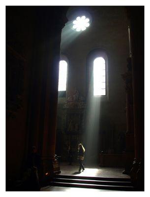 Licht aus ... Spot an ...