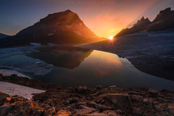 Licht der Berge