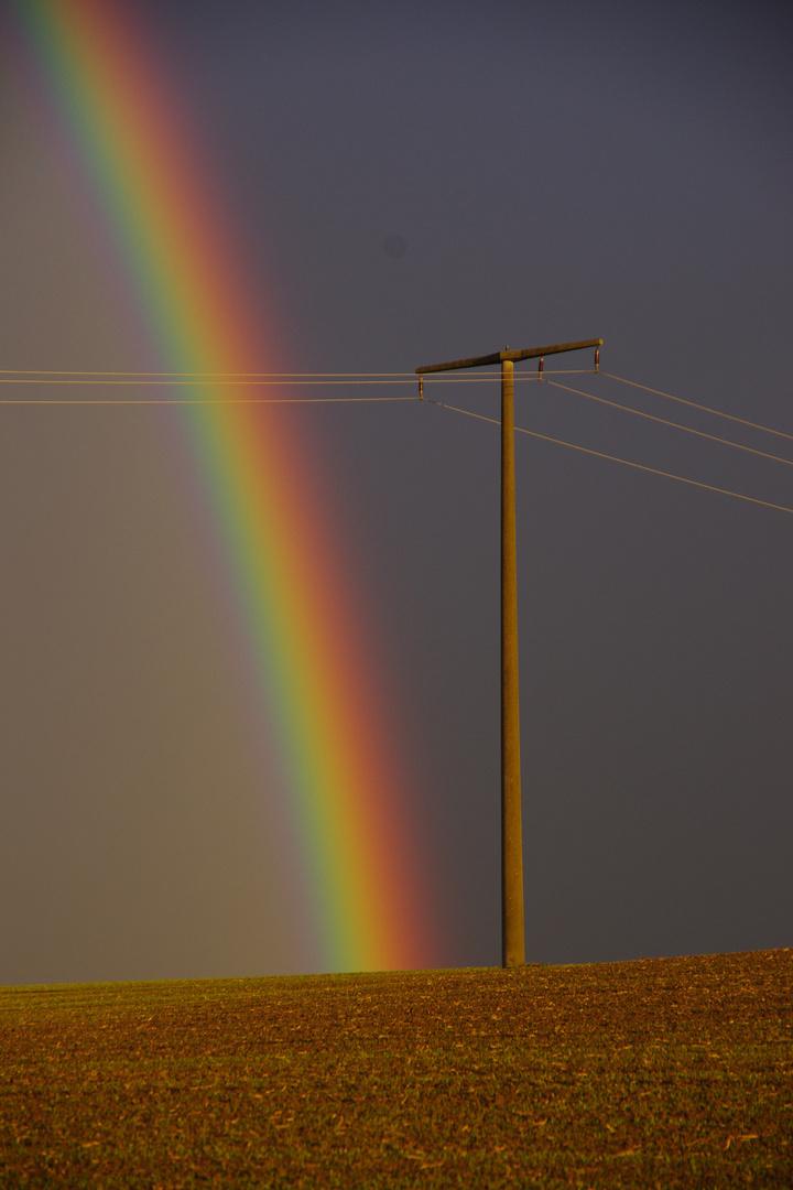 Licht -Energie- am Horizont