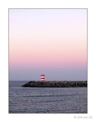 Licht Haus im Meer